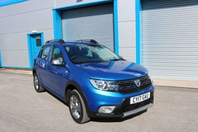 Dacia Sandero Stepway 0.9 TCe Laureate 5dr Hatchback Petrol BlueDacia Sandero Stepway 0.9 TCe Laureate 5dr Hatchback Petrol Blue at Pentre Motors Denbigh