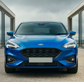 New Ford cars at Pentre Motors